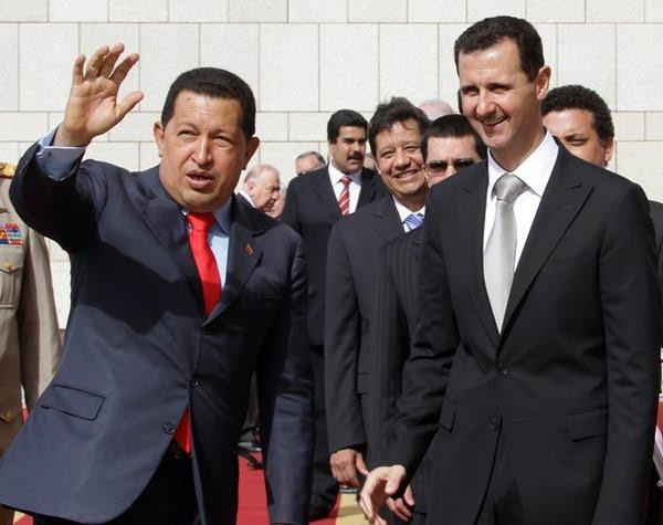 Chavez and Al-Assad