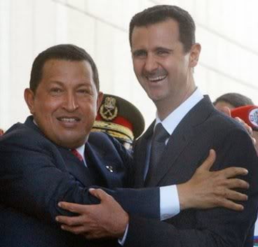Photo of Chavez death 'great loss for me': Assad
