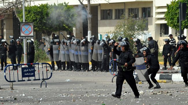 Five Egyptians killed in Port Said clashesFive Egyptians killed in Port Said clashes