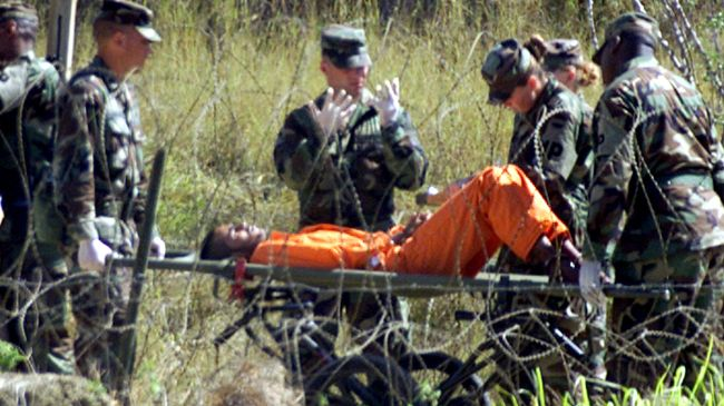 Photo of Guantanamo hunger strike enters day 41