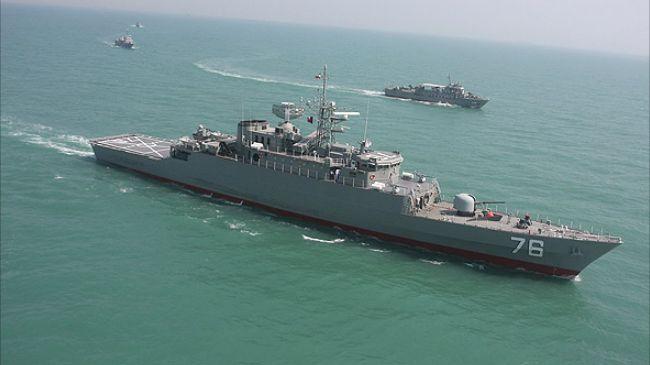 Iran launches indigenous Jamaran 2 destroyer in Caspian Sea