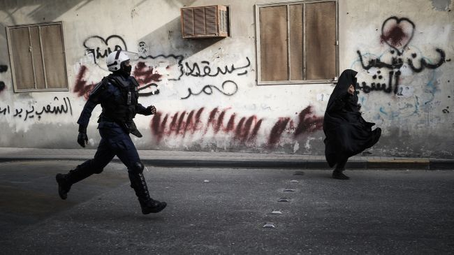 Saudi-backed regime forces attack Bahraini protesters