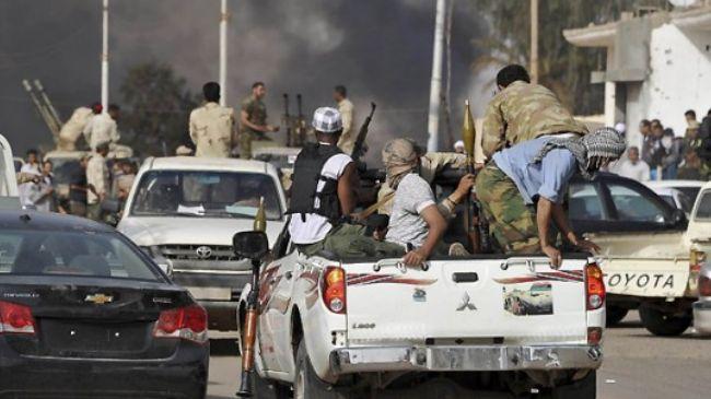 Tribal clashes in western Libya