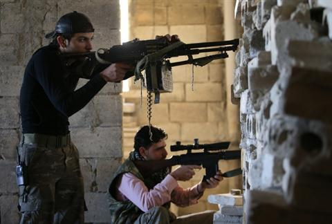 US, EU for More Support, Train to Syria Rebels
