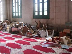 Photo of Enemy of Islam zionist forces kick copy of the holy Quran in Aqsa Mosque