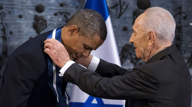 Photo of Obama employee of Zionist entity: Hezbollah