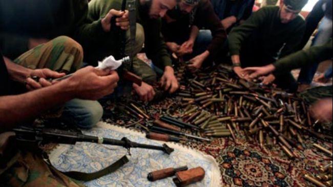militants to Syria