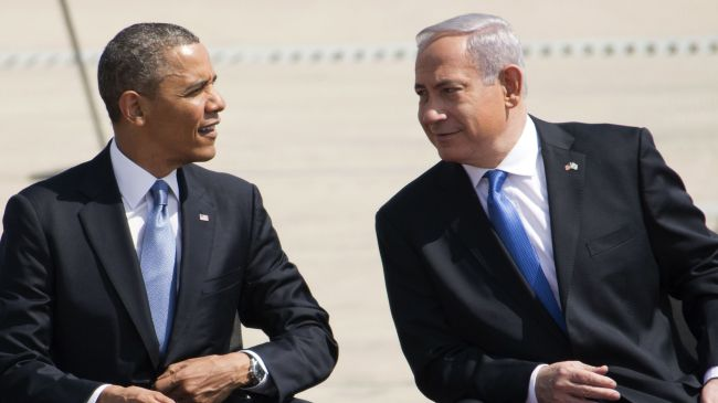 Photo of Zionist US Pres. Obama arrives in Tel Aviv amid rising tension