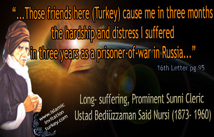 "Photo of ""I suffered more pain here in Turkey than my three years of as a prisoner-of-war in Russia"""