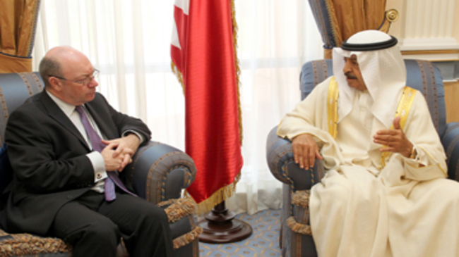 Photo of UK voices support for despotic Bahraini regime