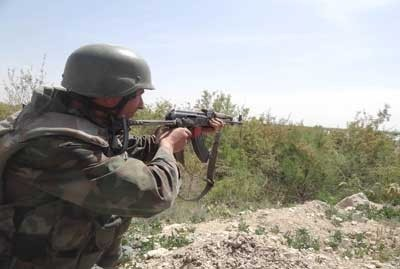 Photo of The Army Eliminates Terrorists in Several Areas, Seizes Weapons
