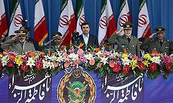 Photo of President: Iranian Army's Presence Contributes to Persian Gulf Security