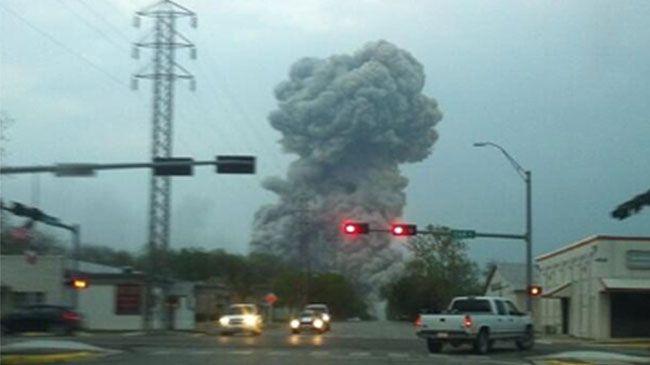 Blast  in Texas