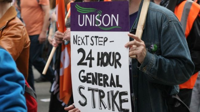 British unions are planning general strike to protest cuts