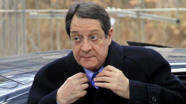 Cypriot president's family involved in financial scandal
