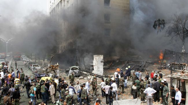 Explosion in Syrian capital kills 15