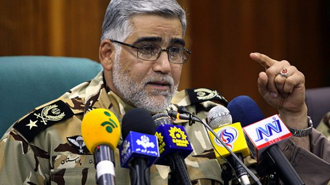 Iranian Army's Ground Forces