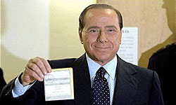 Photo of Italy's Berlusconi Calls for Broad Government or Early Vote