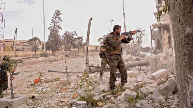 Syrian army kills several militants
