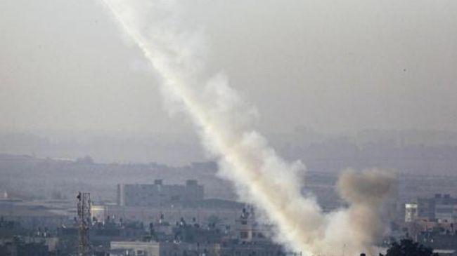 Tel Aviv says Gaza rocket hit Israel