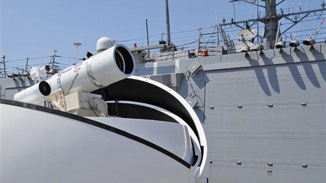 US Navy Deploys Laser Weapon near Iran