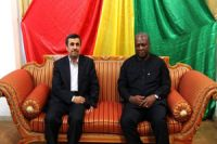 Photo of President Ahmadinejad meets top Ghana lawmaker