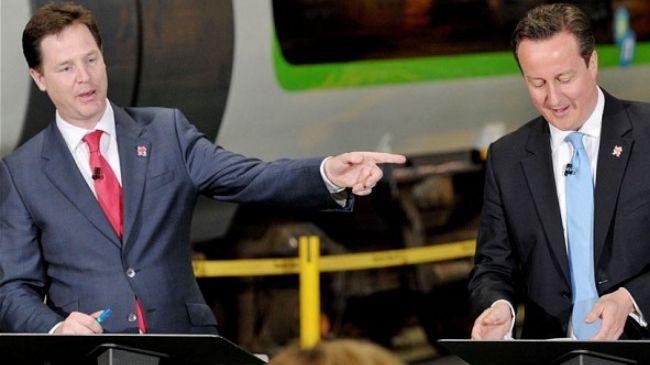 Photo of British Deputy PM attacks PM Cameron
