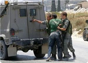 Photo of Slaughterer Israeli Occupation soldiers detained 90 children last month