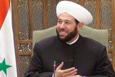 Photo of Grand Mufti Hassoun: External War in Syria Aimed at Undermining Resistance