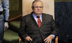 Photo of Iraqi President Comes out of Coma
