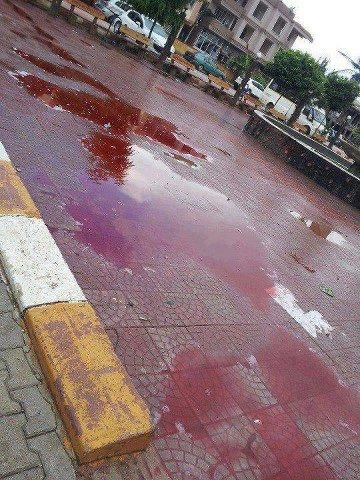 After blasts Reyhanlı Streets turned into bloodbath