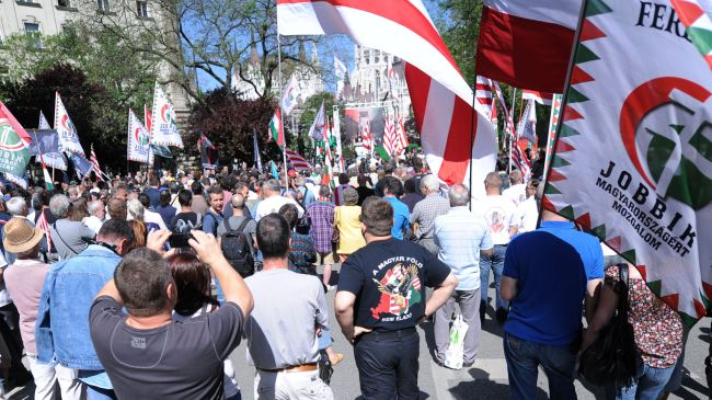 Anti-Zionist demonstration held in Budapest