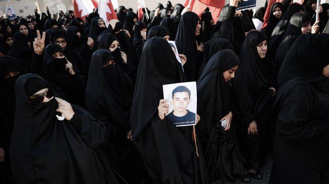 Bahrainis hold fresh anti-regime demo in Manama