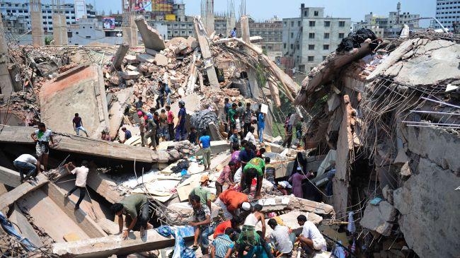Bangladesh factory supplied US companies