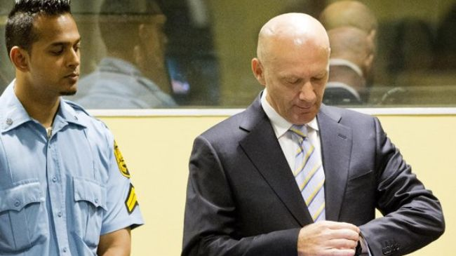Photo of Former Bosnian Croat president convicted of war crimes