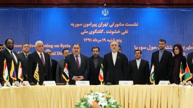 Friends of Syria Conference due to begin in Tehran