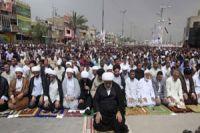 Iraqi Shias, Sunnis hold unity prayers