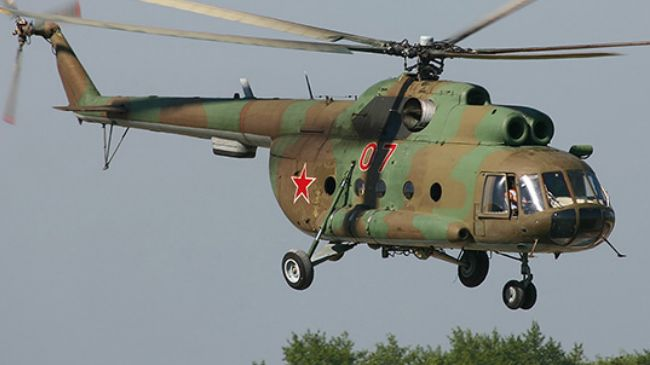Russian transport helicopter goes down in Irkutsk region