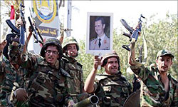 Syrian Army Continues Crackdown on Rebels in Damascus Countryside
