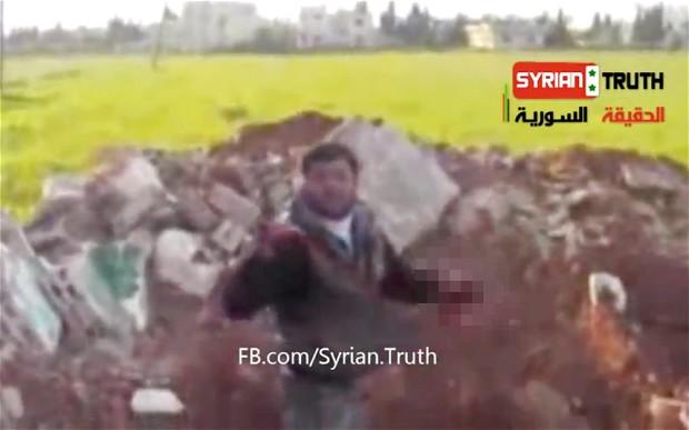 Syrian Rebel Defends Eating Organ