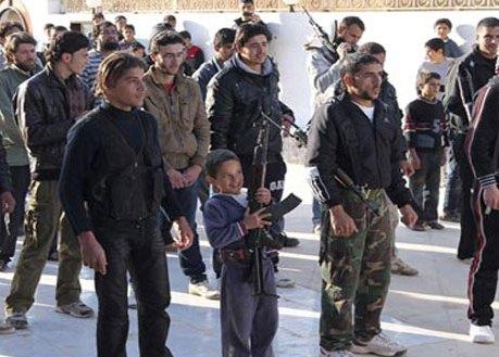 Terrorist groups abuse Syrian children4