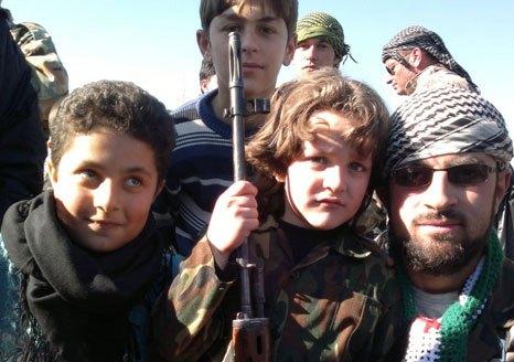Terrorist groups abuse Syrian children5