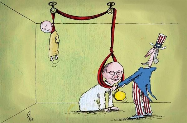 Photo of Great Satan US reward Brutal Myanmar Government