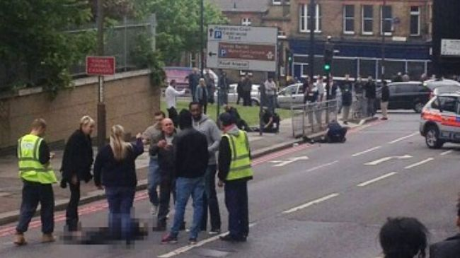 Photo of British soldier beheaded in machete attack in London