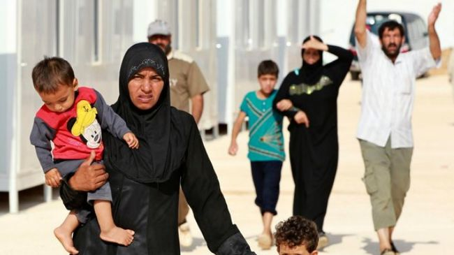 Photo of Syria refugees facing very difficult situation