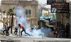 Photo of 30 Palestinians wounded in clashes with zionist regime forces in Al-Khalil