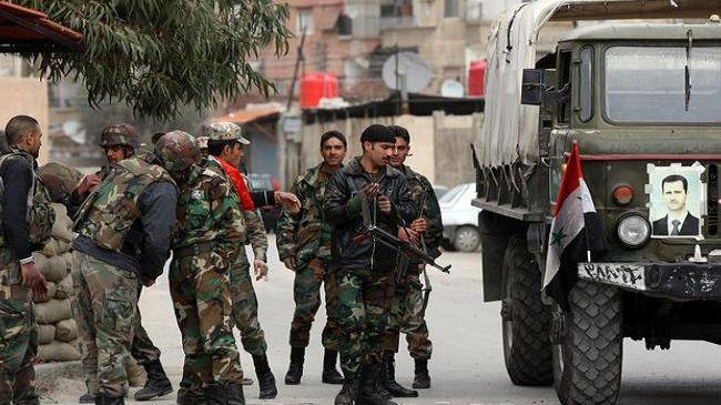 Photo of Syrian army advances on Qusayr town near Lebanese border