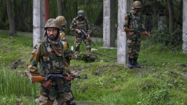 Photo of Four Indian troops killed in militant ambush in Kashmir