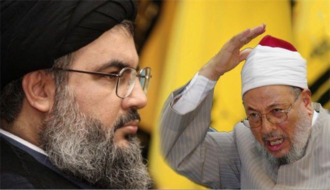 القرضاوي في جمعة يشكر اميركا واخرى يهاجم حزب الله