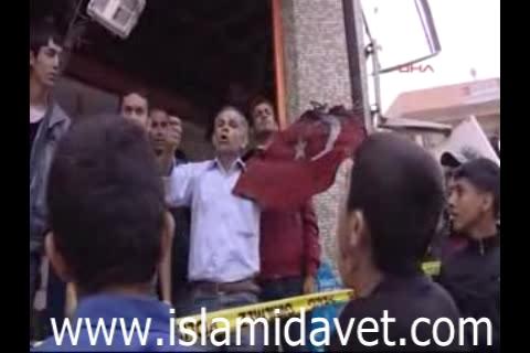 """Photo of New Video- Reyhanlı People chanting as """"Murderer Erdogan"""""""